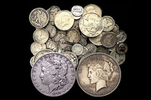 We Buy US and Canadian Junk Coin Silver, Morgan, and Peace Dollars