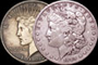 U.S. Silver Morgan and Peace Dollars (1935 and Earlier)