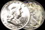 U.S. Silver Halves (1964 and Earlier)
