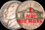 War Time Nickels 1942-45 (Large Mint Marks)