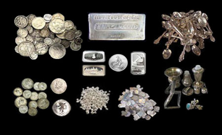 We buy Silver Coins Silverware Flatware and Scrap For Instant Cash