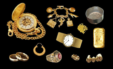 Sell your gold watch, ring, dental gold, or scrap gold for Instant Cash