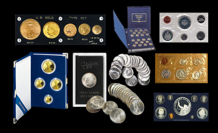 Sell your coin sets and proofs online