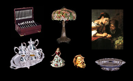 Buyers of silver flatware sets, silver tea sets, antiques