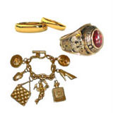 We are buyers of Solid Gold Jewelry, gold rings, gold chains, 10k,14k,18k gold