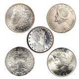 Sell your US Foreign Collectible coins or scrap silver coins