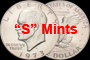 40% Silver Clad Ike Dollars