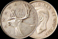Canadian Silver Quarters